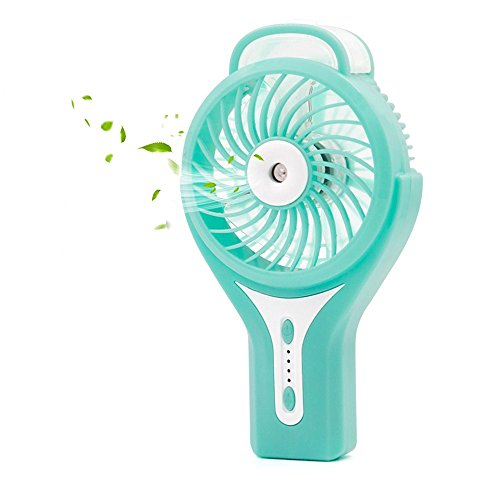 Ehomely Personal Misting Fan Handheld USB Rechargeable Battery Fan Portable Cooling Water Mist Heat Stroke Prevention (Best Virginia In Shopping Beach)