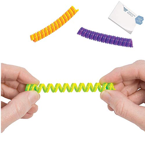 Bargain World Spiral Fidget Toys (With Sticky Notes) by Bargain World (Image #3)