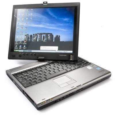 1 IN STOCK TOSHIBA PORTEGE M400 CENTRINO DUO 1.86GHZ 1024MB 80GB CDRW/DVD 12'1