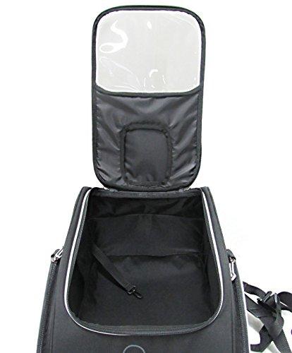 Borsa Serbatoio Suzuki V-Strom 650 Bagster Puppy XSR130 30 litri nero Supporto Easy Road