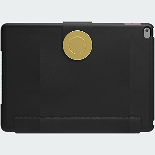 Kate Spade New York Magnet Folio for iPad Air 2 (ONLY) - Saffiano Black (Cover Spade Ipad Kate)