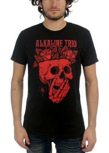 Alkaline Trio - Mens Rosebrains T-Shirt, Size: Large, Color: Black