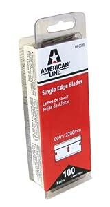 Amazon.com: American Safety Razor 66-0089 Single Edge