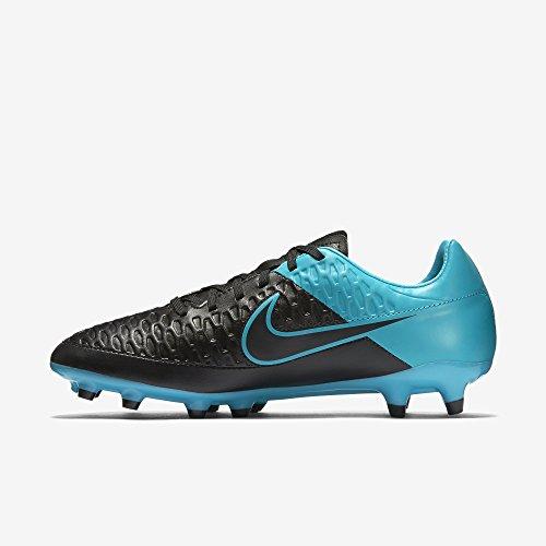 Nike Magista Onda FG Uomo Negro / Azul (Black / Black-trqs Blue-trqs Bl)