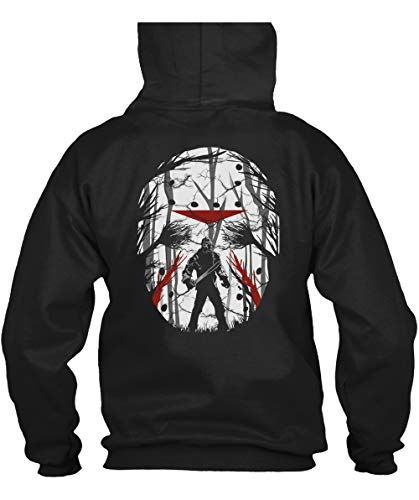 (Jason Voorhees Friday The 13th Halloween T Shirt, Michael Myers Halloween T Shirt - Hoodie (M,)