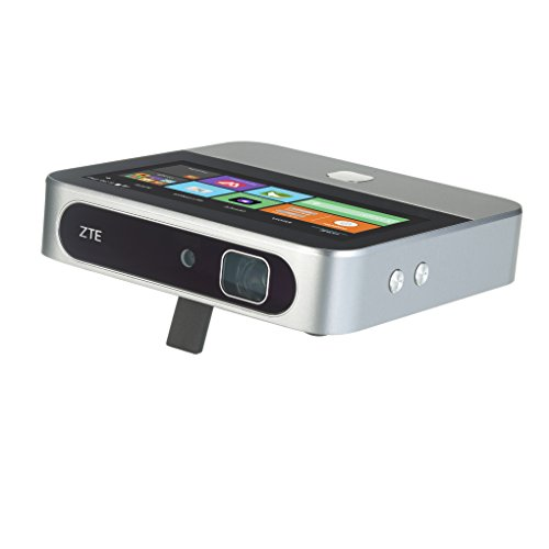 ZTE Spro 2 Smart Projector WiFi Only - Retail Packaging (Silver) (Zte 5 In T Mobile)