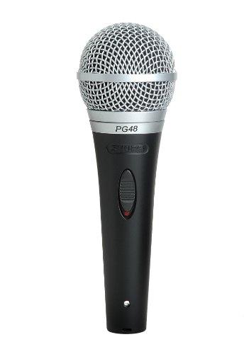 Shure PG48 XLR Cardioid Dynamic Microphone