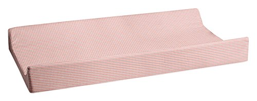Glenna Jean Cottage Collection Rose Changing Pad Cover, Pink Gingham ()