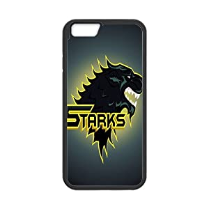 HuangHou ,iPhone 6/6s Case,Custom Protect Slim Fit Hard Rubber Case Cover for iPhone 6s Game of Thrones Design