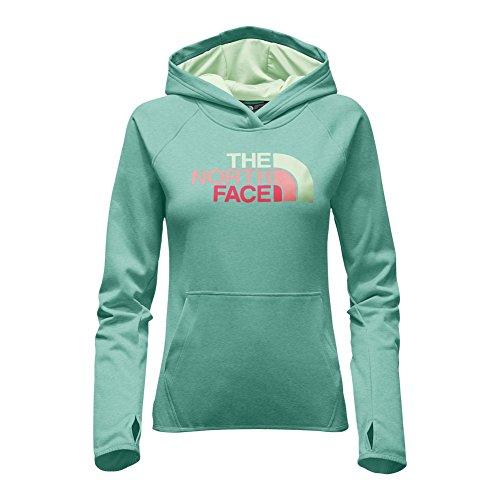 Fave Women's Agate The North Green Pullover Heather Hoodie Face Half Multi Dome ambrosia qt1FUF