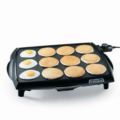 Tilt 'n' Drain Big Griddle 23'''' Tilt 'n' Drain Big Griddle 23'''' Presto 5971141