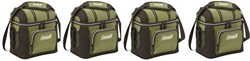 Coleman 9-Can Soft Cooler With Hard LinerGcbsSv, 4 (Green)