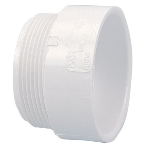 NIBCO 4804 Series PVC DWV Pipe Fitting, Adapter, 2