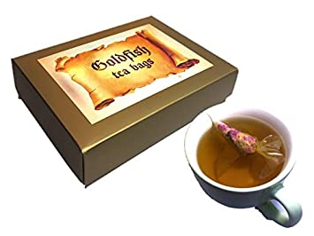 novelty gifts for friend earl grey rose 10 goldfish tea bags inspirational good luck gifts for