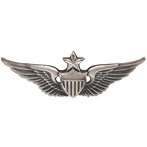 Medals of America US Army Senior Aviator Badge Silver Oxide Miniature