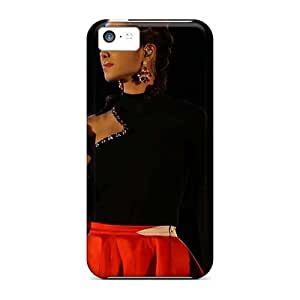 Shockproof Hard Cell-phone Case For Iphone 5c With Custom Beautiful Muse Band Skin JohnPrimeauMaurice