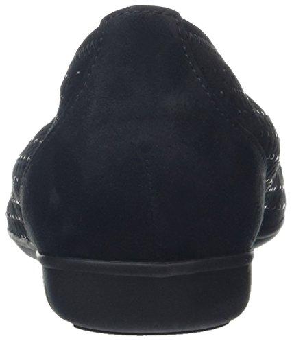 Gabor Ladies Fashion Chiuso Piatto Nero (black 17)