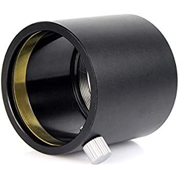 Solomark C-Mount to 1.25 Adapter Ring 1.25 Inch Barrel Adapter for Telescope Camcorder and Video Camera