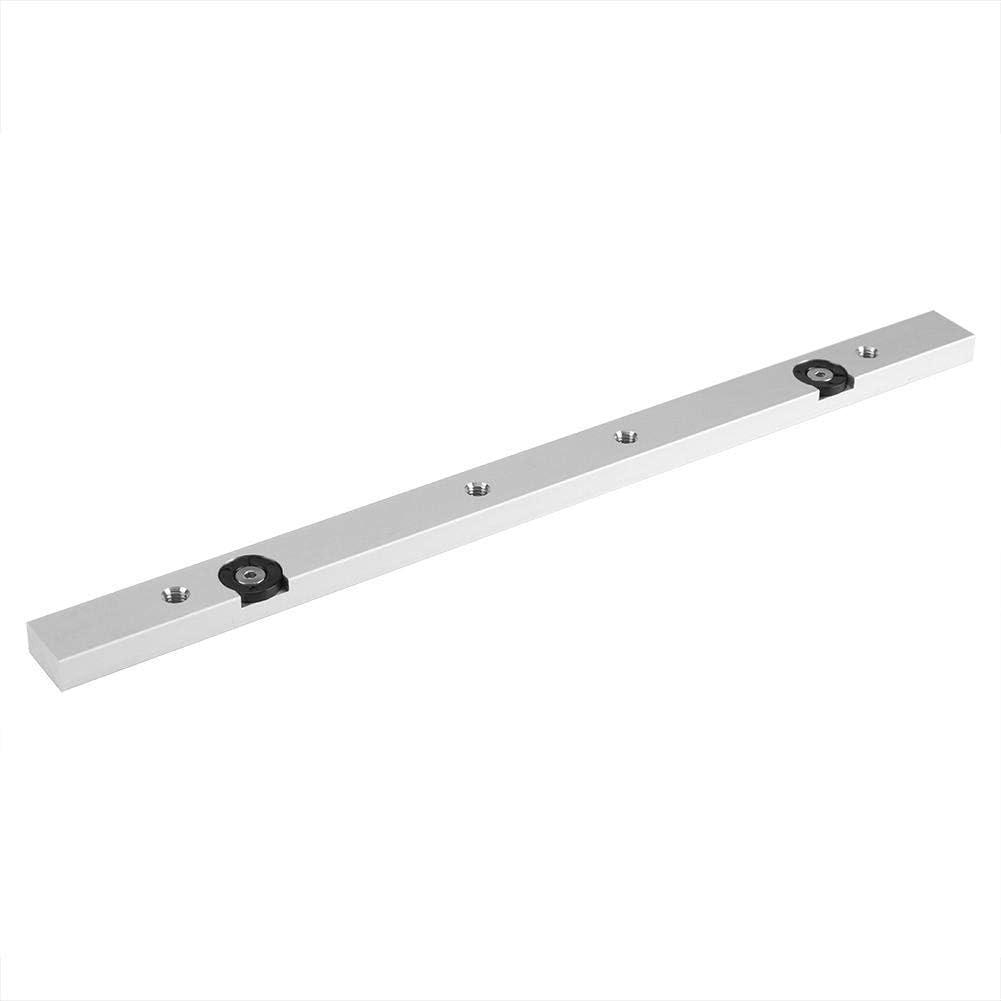 Barra para sierra ingletadora, aleación de aluminio, herramienta de trabajo para madera