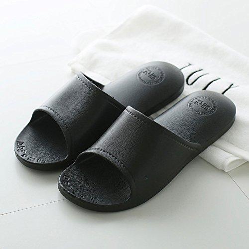 Nero3 cool pantofole fondo uomini da DogHaccd Estate morbido anti calzature bagno pantofole soggiorno slip giapponese coppie interno casa pantofole donna bagno RaqnwxBn