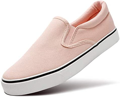 ZGR Womens Canvas Shoes Fashion Low Cut Loafer Sneakers