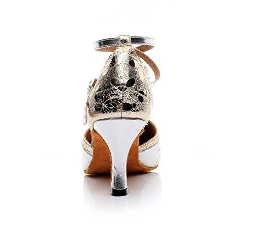 Minitoo - salón mujer Gold-7.5cm Heel