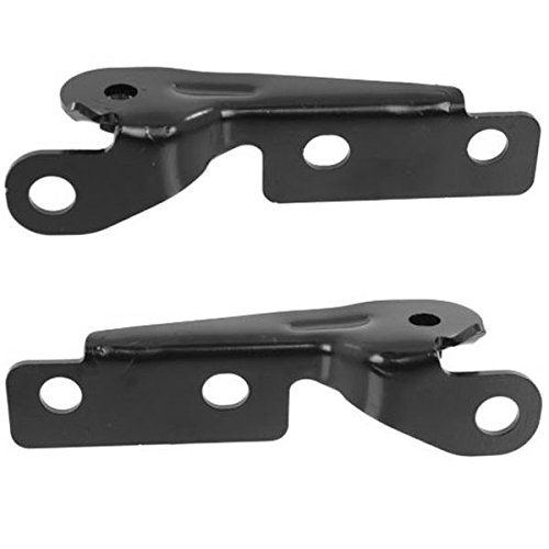 - Koolzap For 07-14 Sierra Truck Hood Hinge Fender Brace Support Bracket Left & Right SET PAIR