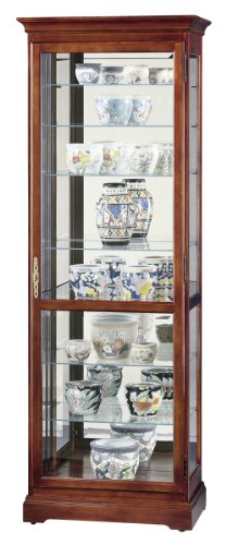 Home Chesterfield Floor Cabinet (Howard Miller 680-286 Chesterfield Curio Cabinet)