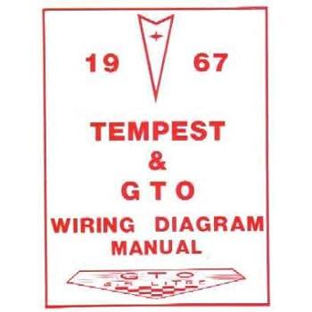 amazon com 1969 pontiac gto tempest wiring diagrams schematics 1968 Pontiac GTO 1967 pontiac gto tempest wiring diagrams schematics