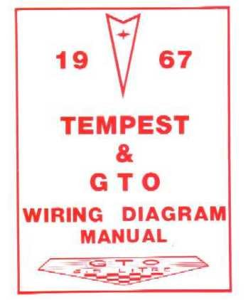 amazon com: 1967 pontiac gto tempest wiring diagrams schematics: everything  else