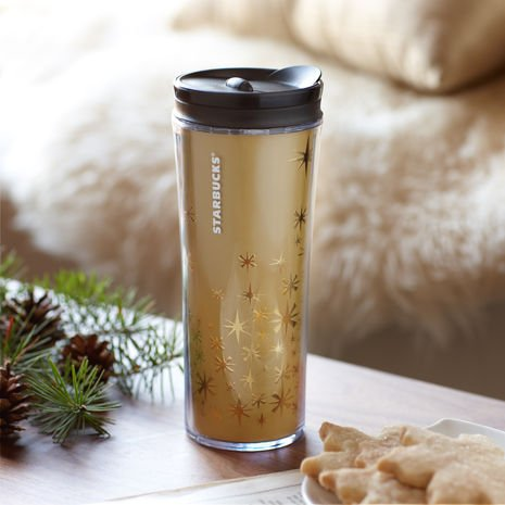 Starbucks Gold Star Tumbler, Limited Edition