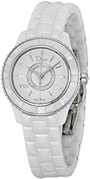 Dior VIII Diamond Silvered Dial Ladies Watch