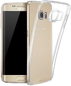 Samsung galaxy s6 Edge funda , YourCover Cubierta de silicona para samsung galaxy s6 de ultra delgado