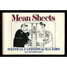Mean Sheets: Political Cartoons