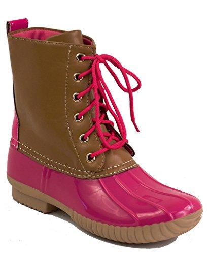 AVANTI Womens Combat Style Boots
