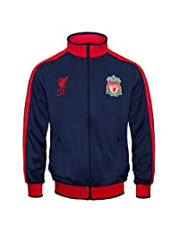 Liverpool Football Club Official Gift Boys Retro Track Top Jacket 10-11 Years LB