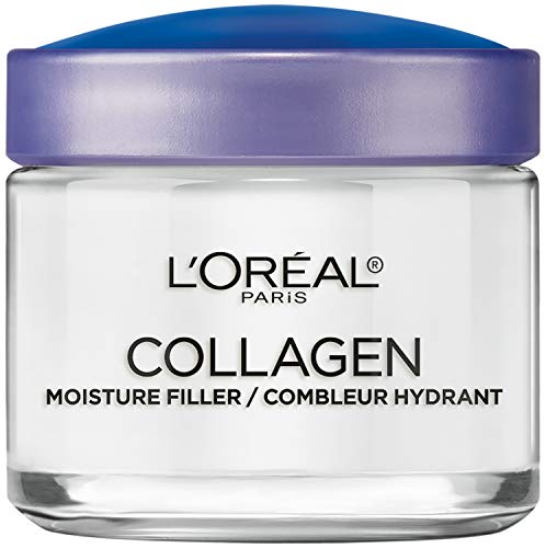 Collagen Face Moisturizer by L'Oreal Paris Skin Care I Day and Night Cream I Anti-Aging Face Cream to Smooth Wrinkles I Non-Greasy I 3.4 oz.