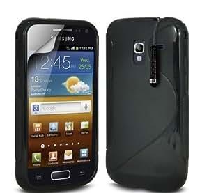 Viesrod Shelfone Stylish S Line Wave Gel Skin Case Cover For Samsung Galaxy ACE 2 I8160 + Includes Stylus Pen + Screen...