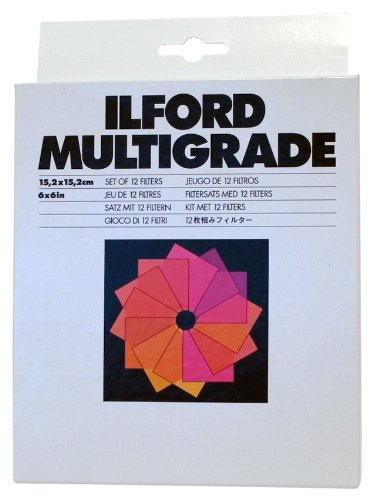 ILFORD MG Filters 6 x 6 Inches (1762640) by Ilford