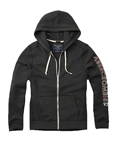abercrombie-fitch-mens-hoodie-sweatshirt-pullover-l-charcoal