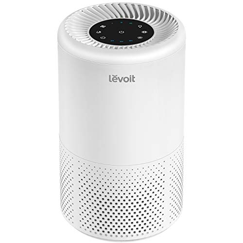 LEVOIT Air Purifier for Home Allergies and Pets Hair, Smokers, True HEPA Filter, Quiet Filtration System in Bedroom ,2-Yr Warranty, Removes Smoke Odor Dust Mold, Night Light & Timer, Vista 200 (Best Portable Air Purifier 2019)