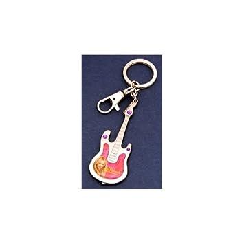 Amazon.com: Hannah Montana Pewter Guitar Keyring: Baby