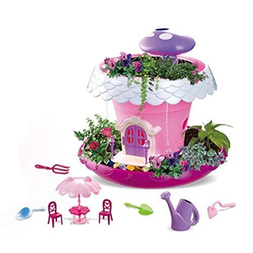 Bambini Giocattoli magici Cottage vegetali Bambini Fingere Giardino Fai da Te impianto di casa Educational