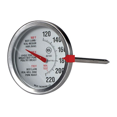 AcuRite 00732A2 Stainless Steel Thermometer