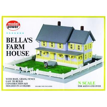 Model Power-Building Kits w/Fence & Gras - Scale Farmhouse Kit Shopping Results