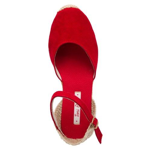 Toni Pons Kvinners Lloret-5 Sandaler Røde