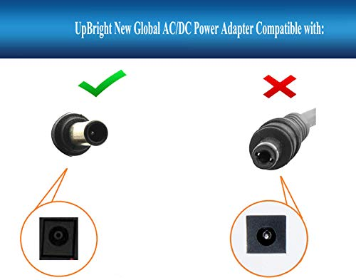 UpBright 19V AC/DC Adapter Compatible with Samsung HW-K360 HW-K850 HW-K950 HW-M4500 HW-M360 HW-M4510 HW-M4511 HW-M4501 J4500 UN32J4500 J4000 UN32J4000 A4819_FDY BN44-00835A Soundbar 19VDC Power Supply
