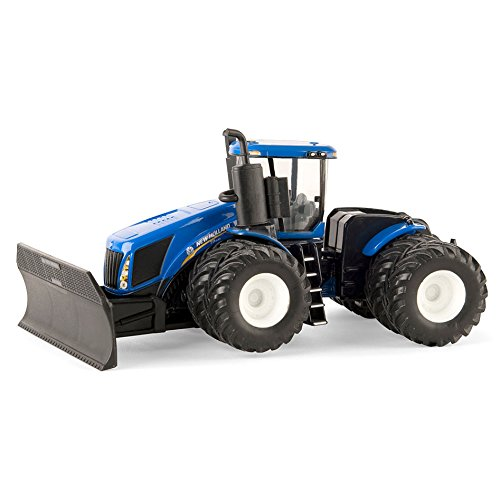 1:64 New Holland T9.645 4WD Tractor With Grouser Blade from ERTL