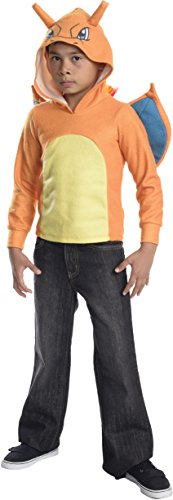 Rubie's Costume Pokemon Charizard Child Novelty Hoodie Costume, Large ()