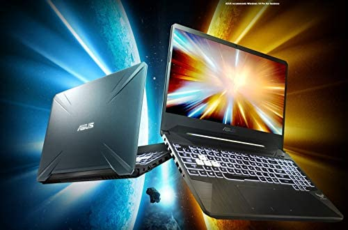 """ASUS TUF FX505GT-AB73 15.6"""" FHD 1080p 144Hz IPS Gaming Laptop (Intel Core i7-9750H, GeForce GTX 1650, 16GB DDR4, 512GB PCIe SSD) Backlit, Wi-Fi, Windows 10 Home, IST Computers HDMI Cable"""